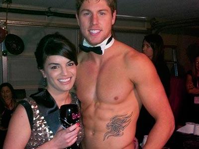 Topless Waiter 05