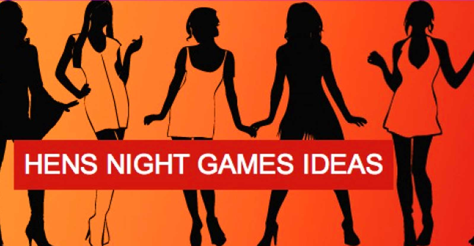 hens night party game ideas